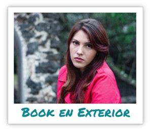 book fotografico en exterior